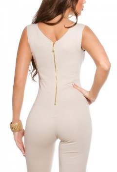 ooKouCla_jumpsuit_with_lace_and_zip__Color_BEIGE_Size_M_0000OV18552_BEIGE_2