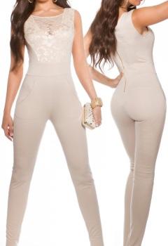 ooKouCla_jumpsuit_with_sexy_lace_decollete__Color_BEIGE_Size_M_0000OV185521_BEIGE_1