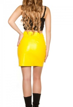 ooKouCla_leatherlook_mini_skirt_zipsbelt__Color_YELLOW_Size_S_0000H0396_GELB_11