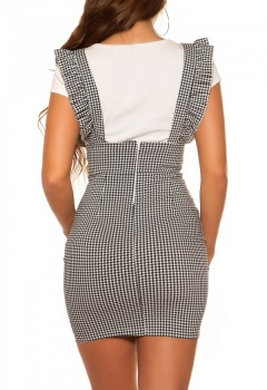 ttstrap_skirt_with_ruffles_houndstooth_pattern__Color_BLACKWHITE_Size_L_0000R18038_SCHWARZWEISS_2